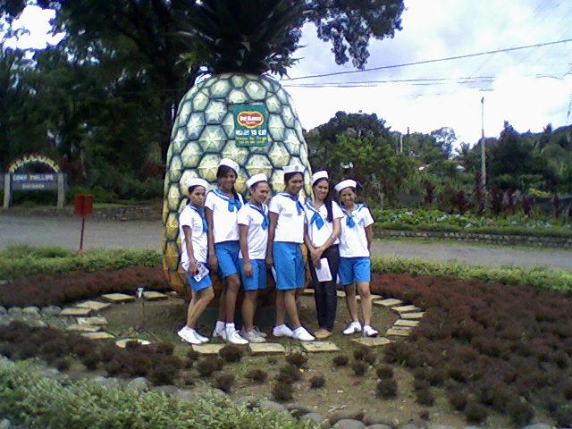 The Recorida Team in Camp Philipps, Bukidnon
